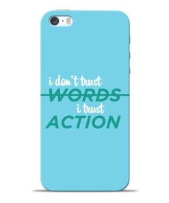Words Action iPhone 5s Mobile Cover