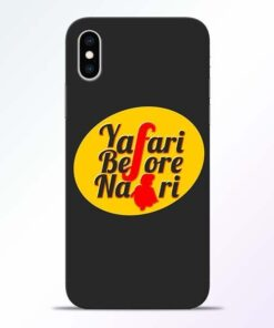 Yafari Before iPhone XS Mobile Cover