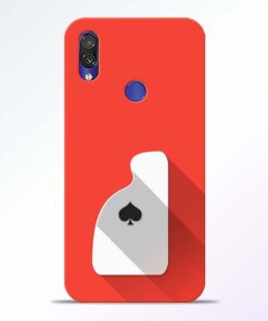 Ace Card Redmi Note 7 Pro Mobile Cover - CoversGap