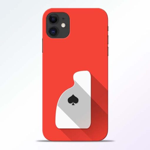 Ace Card iPhone 11 Mobile Cover - CoversGap