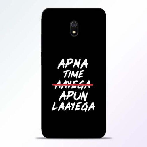 Apna Time Apun Redmi 8A Mobile Cover