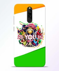 Are you In Redmi 8 Mobile Cover