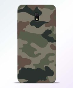 Army Camouflage Redmi 8A Mobile Cover