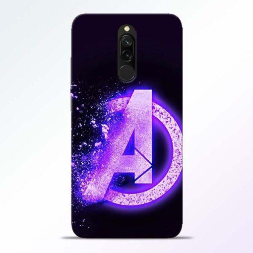 Avengers A Redmi 8 Mobile Cover