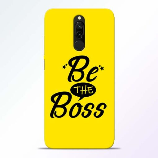 Be The Boss Redmi 8 Mobile Cover