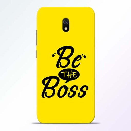 Be The Boss Redmi 8A Mobile Cover