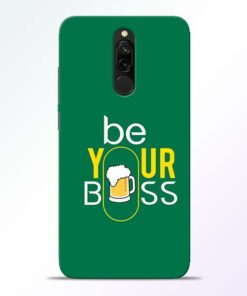 Be Your Boss Redmi 8 Mobile Cover