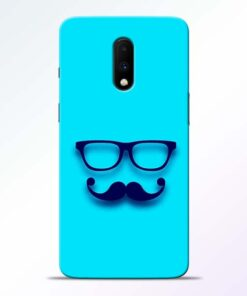 Beard Face Oneplus 7 Mobile Cover