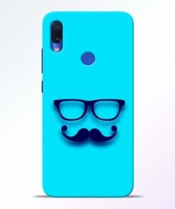 Beard Face Redmi Note 7s Mobile Cover - CoversGap