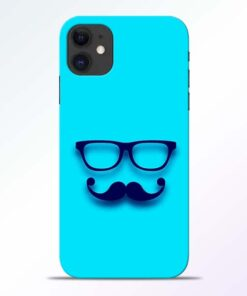 Beard Face iPhone 11 Mobile Cover - CoversGap