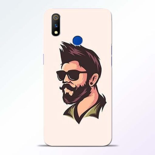 Beard Man Realme 3 Pro Mobile Cover