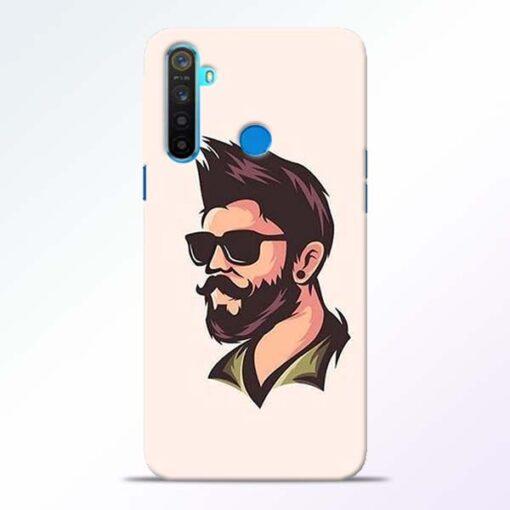 Beard Man Realme 5 Mobile Cover