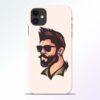 Beard Man iPhone 11 Mobile Cover - CoversGap