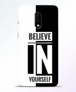 Believe Yourself Oneplus 7 Mobile Cover
