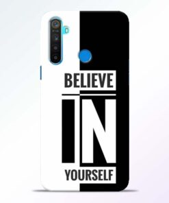 Believe Yourself Realme 5 Mobile Cover