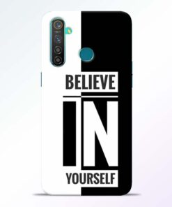 Believe Yourself Realme 5 Pro Mobile Cover