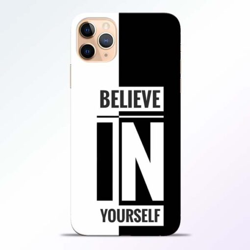 Believe Yourself iPhone 11 Pro Mobile Cover - CoversGap