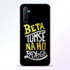 Beta Tumse Na RealMe XT Mobile Cover