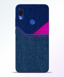 Blue Jeans Redmi Note 7s Mobile Cover - CoversGap