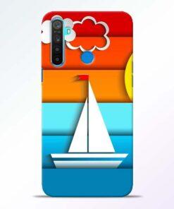 Boat Art Realme 5 Mobile Cover