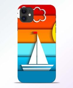 Boat Art iPhone 11 Mobile Cover - CoversGap