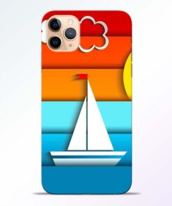 Boat Art iPhone 11 Pro Mobile Cover - CoversGap