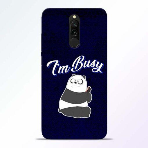 Busy Panda Redmi 8 Mobile Cover