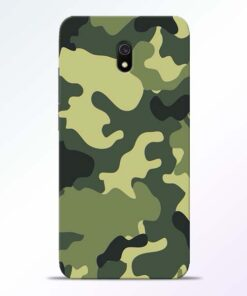 Camouflage Redmi 8A Mobile Cover
