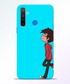 Cartoon Boy Realme 5 Mobile Cover
