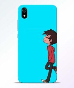 Cartoon Boy Redmi 7A Mobile Cover - CoversGap