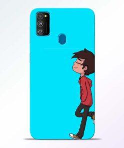 Cartoon Boy Samsung Galaxy M30s Mobile Cover