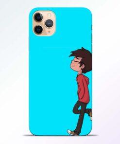 Cartoon Boy iPhone 11 Pro Mobile Cover - CoversGap
