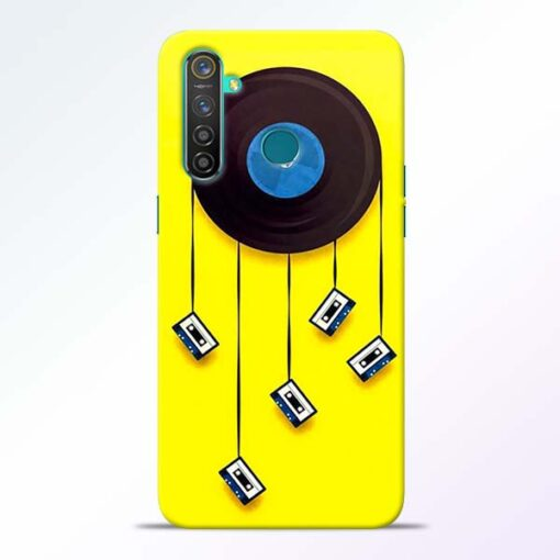 Cassette Tape Realme 5 Pro Mobile Cover