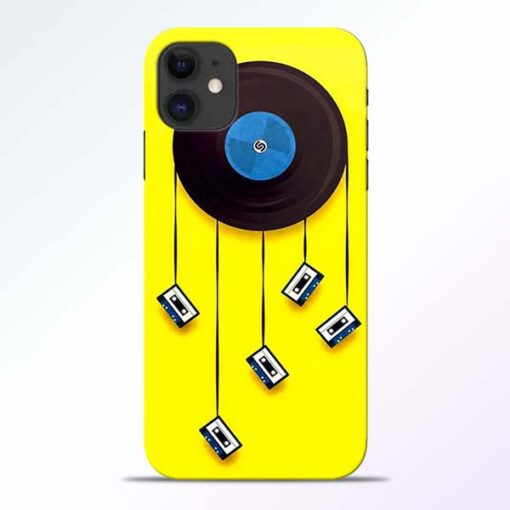 Cassette Tape iPhone 11 Mobile Cover - CoversGap