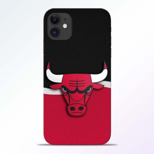 Chicago Bull iPhone 11 Mobile Cover - CoversGap