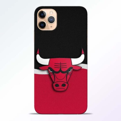 Chicago Bull iPhone 11 Pro Mobile Cover - CoversGap