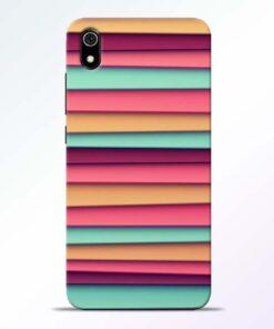 Color Stripes Redmi 7A Mobile Cover - CoversGap