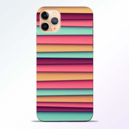 Color Stripes iPhone 11 Pro Mobile Cover - CoversGap