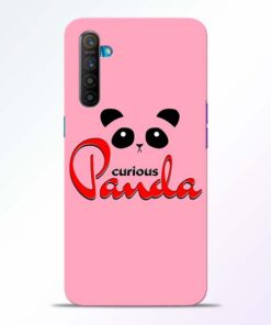 Curious Panda Realme XT Mobile Cover