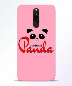 Curious Panda Redmi 8 Mobile Cover