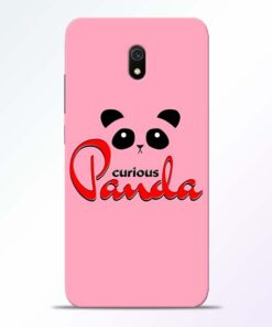 Curious Panda Redmi 8A Mobile Cover