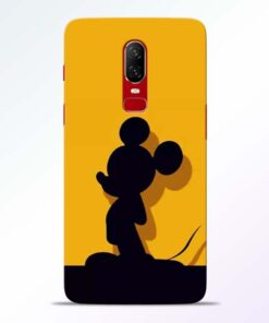 Cute Mickey Oneplus 6 Mobile Cover
