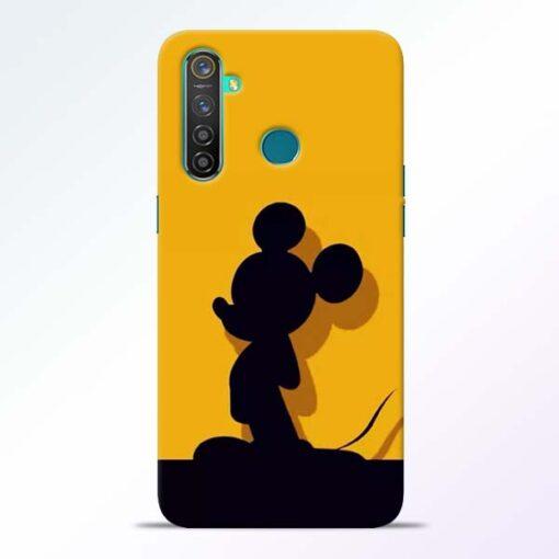 Cute Mickey Realme 5 Pro Mobile Cover