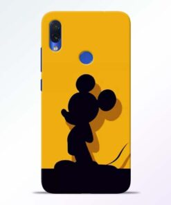 Cute Mickey Redmi Note 7s Mobile Cover - CoversGap