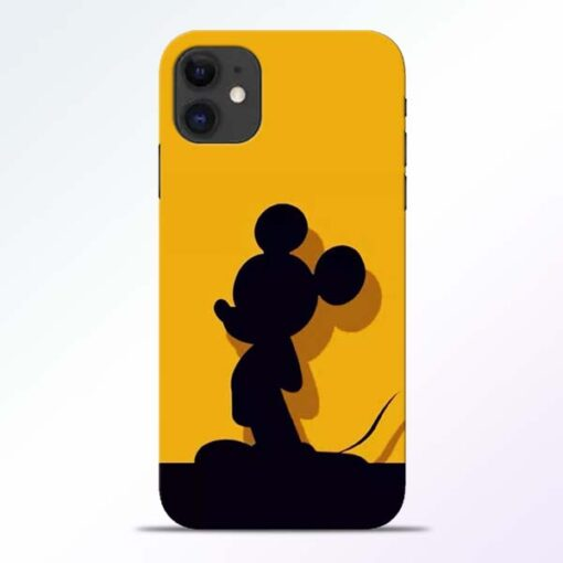 Cute Mickey iPhone 11 Mobile Cover - CoversGap