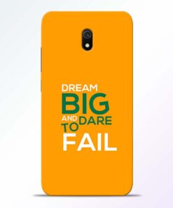 Dare to Fail Redmi 8A Mobile Cover