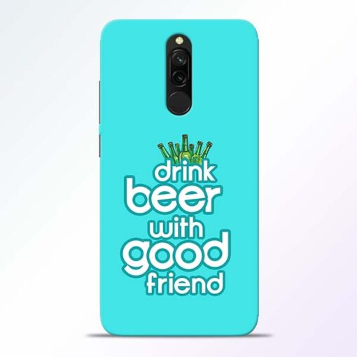 Drink Beer Redmi 8 Mobile Cover