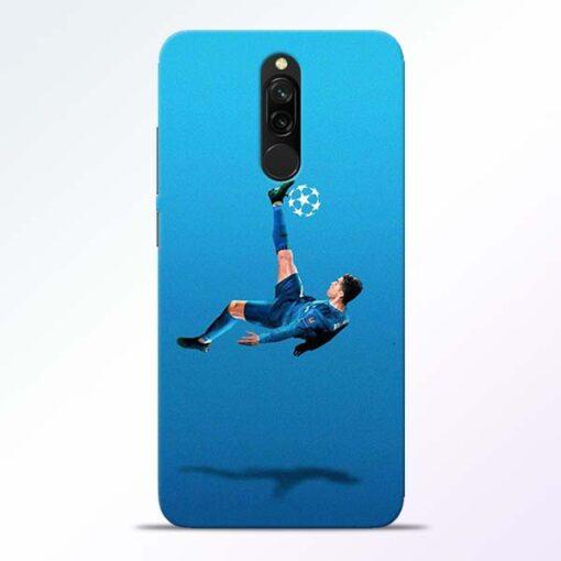 Football Kick Redmi 8 Mobile Cover