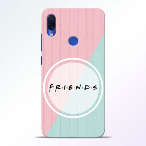 Friends Redmi Note 7s Mobile Cover - CoversGap