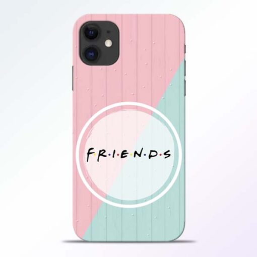 Friends iPhone 11 Mobile Cover - CoversGap